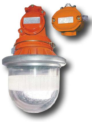 Большой выбор моделей взрывозащищенных светильников под лампу накаливания